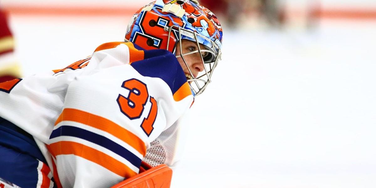 Syracuse Orange Goaltender Allison Small